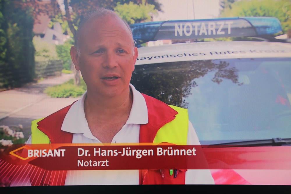 Fernsehbeiträge über meine Notarzttätigkeit
